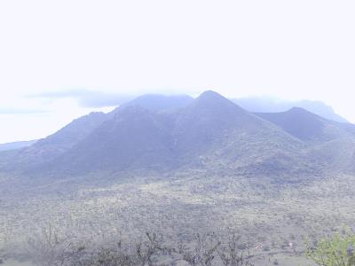 some volcanoes of tsavo west