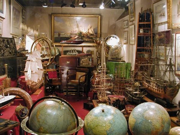 marine antiques for sale in paris