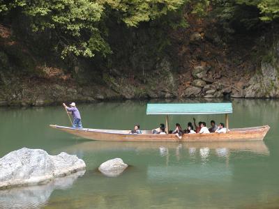 arishiyama wooden boat