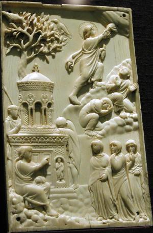 ivory, 400 A.D.
