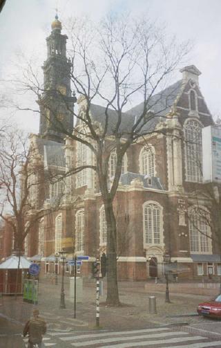 a 15th c. church near Maarken, Netherlands