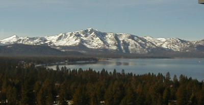 Lake Tahoe at Stateline by day