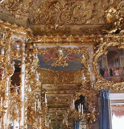just another gold-crusted interior at linderhof