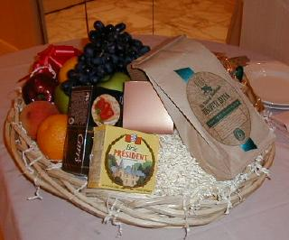 mirage gift basket from the ghost host