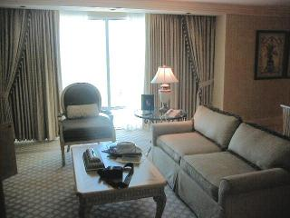 mirage suite living room