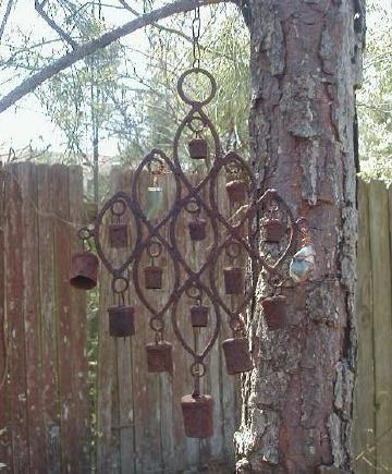 old wind chimes