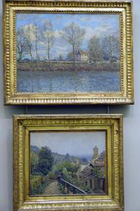 painting by sisley