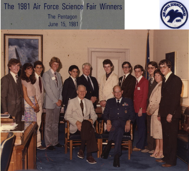 science fair photo 1981