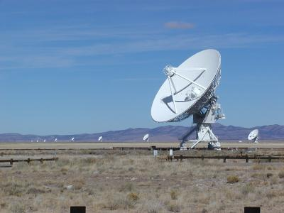radio dishes in the vla